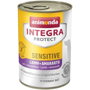 ANIMONDA INTEGRA Protect Sensitive puszki jagnięcina i amarantus 400 g